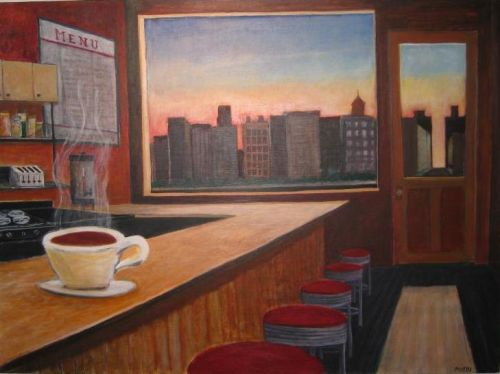 First Cup Cafe © Bill Buckley, all rights reserved.