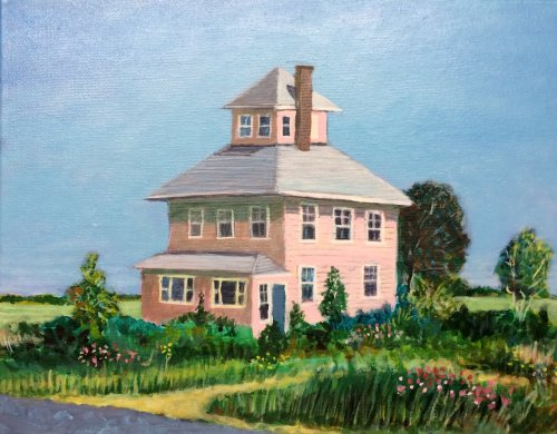 Pink House, Plum Island © Bill Buckley, all rights reserved.