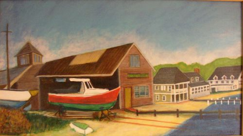 Vineyard Haven Boatyard © Bill Buckley, all rights reserved.